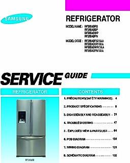 rs265tdrs refrigerator service manual samsung amazon com books rh amazon com rs265tdrs repair manual rs265tdrs owners manual