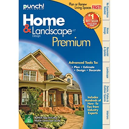 Amazon Com Punch! Home & Landscape Design Premium V17 Download