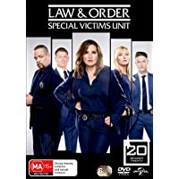 Law and Order: Special Victims Unit: Season 20 (DVD)