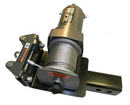 Amazon.com: ATV Winch Mount Plate Receiver fits Harbor Freight Tool on harbor freight winch solenoids, harbor freight winch worm gear, harbor freight winch wiring kit, harbor freight winch mounting plate,