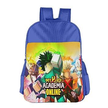 Amazon com | My Hero Academia-Online-Roblox Children's Bags School