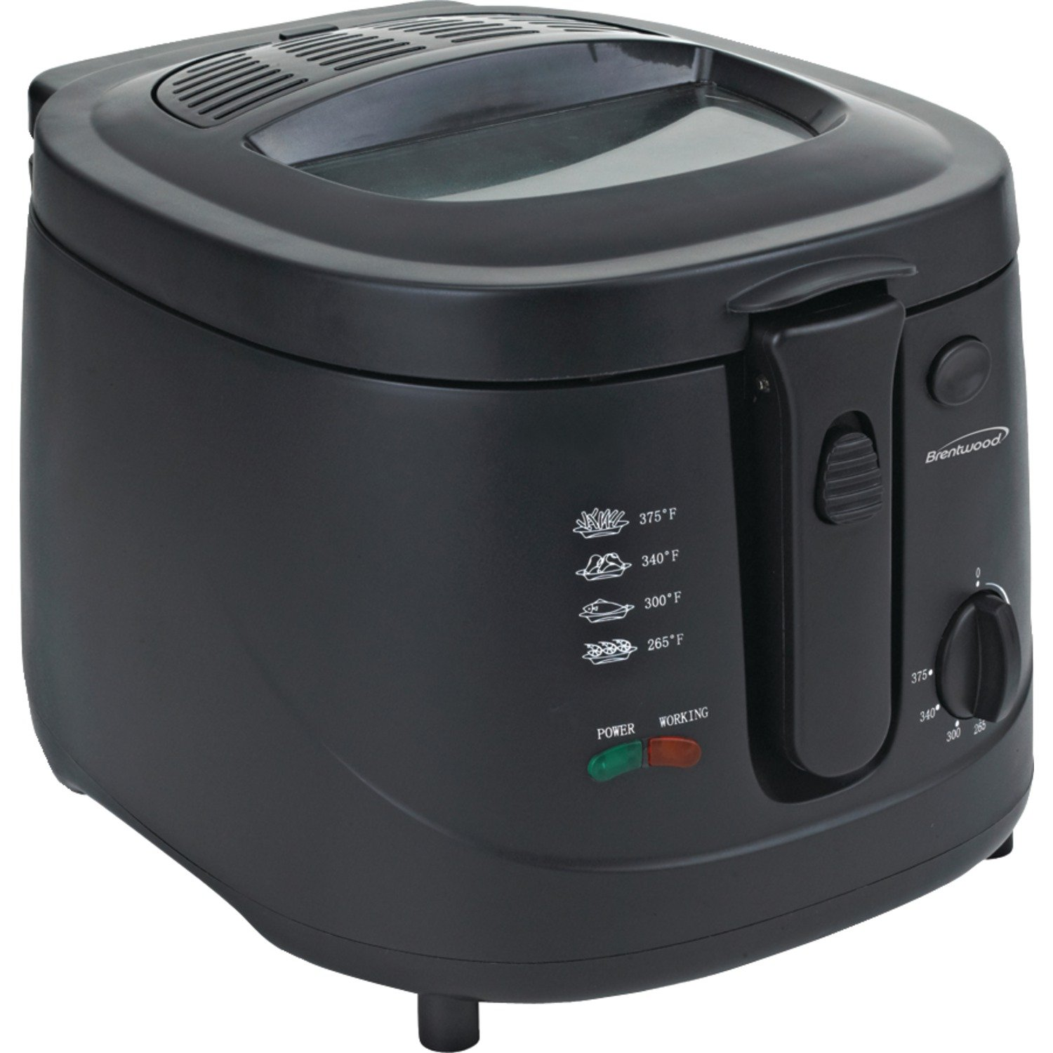 Amazon.com: Brentwood DF-725 1500w 12-Cup Deep Fryer, Black: Kitchen Small Appliances: Kitchen & Dining