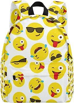 Official Emoji Smileys Sunglasses Pocket Backpack Rucksack Nursery School Bag