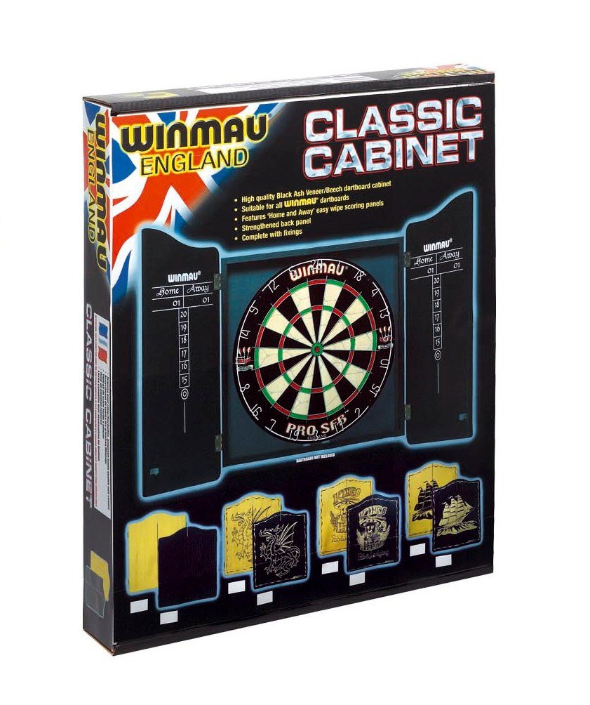 Amazon.com : Winmau Black finish Darts cabinet : Sports & Outdoors