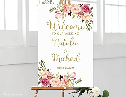 photograph about Welcome Home Sign Printable identify : Dozili Welcome Marriage Indicator Welcome towards Our