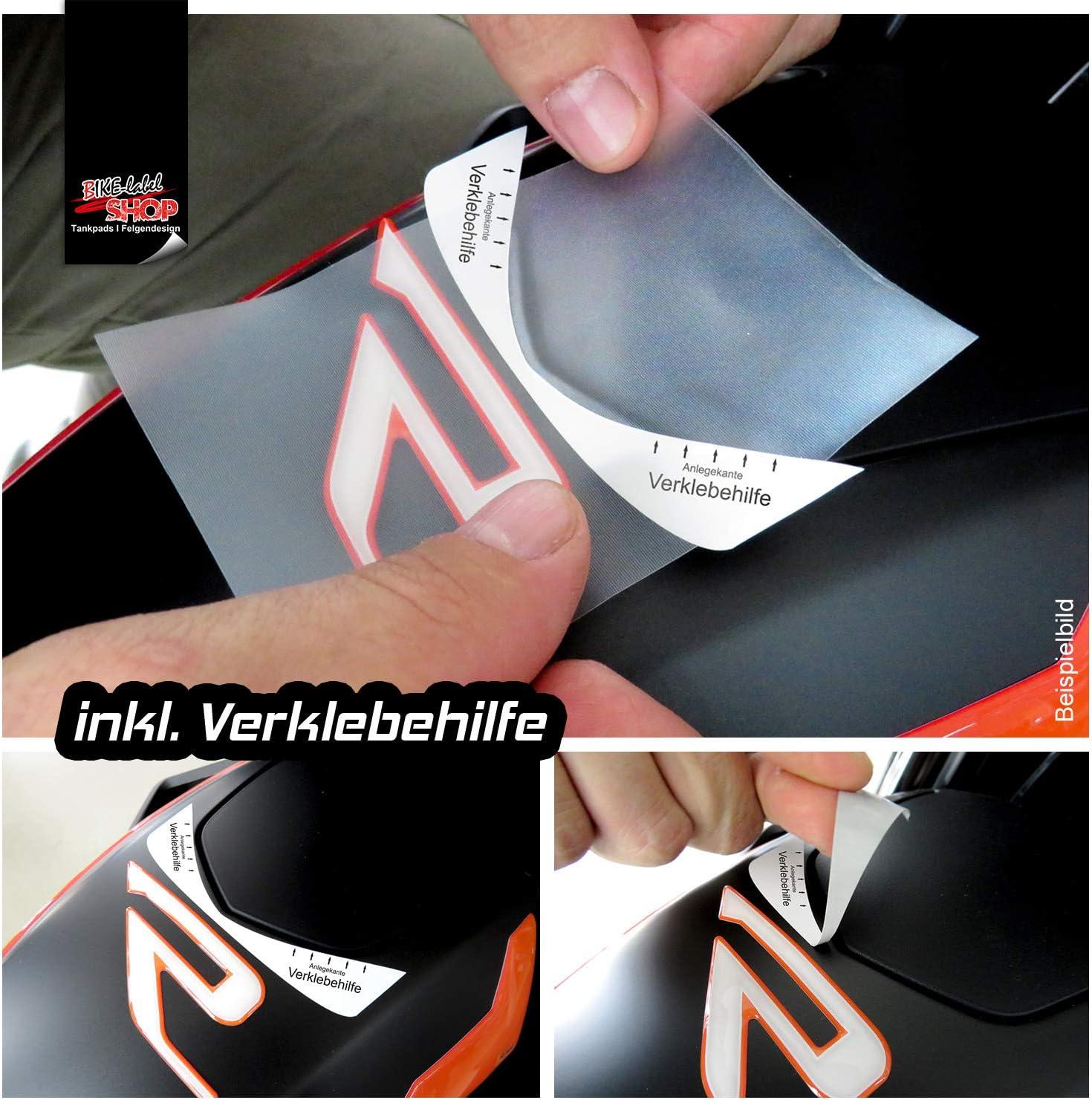 BIKE-label 550143-VA Autocollant de protection compatible avec KTM 1290 Super Duke R /à partir de 2020