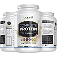 Organifi: Complete Protein - Vegan Protein Powder - Organic Plant Based Protein Drink - No Soy, Dairy or Gluten…