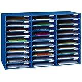 Classroom Keepers 30-Slot Mailbox, Blue (001318)