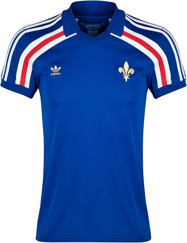 Maillot Francia Retro, Hombre, Color Azul, tamaño XS: Amazon.es ...