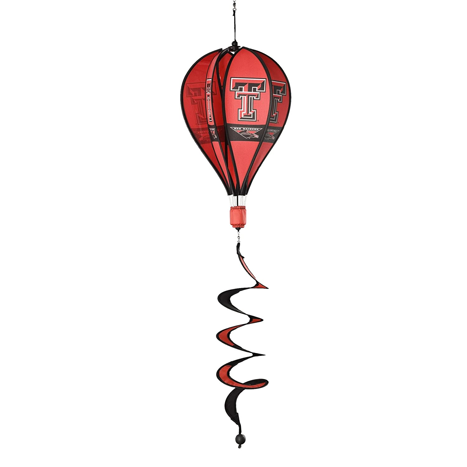 NCAAテキサスTechレッドRaiders Hot Air Balloon Spinner B003XPRY9Y