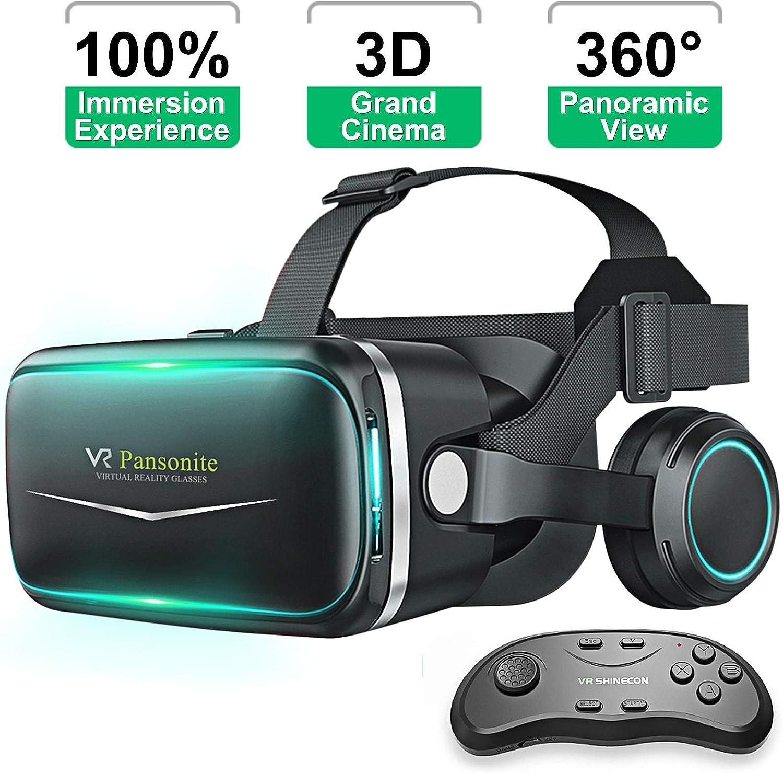 Pansonite VR Virtual Reality Wireless Gaming Headset
