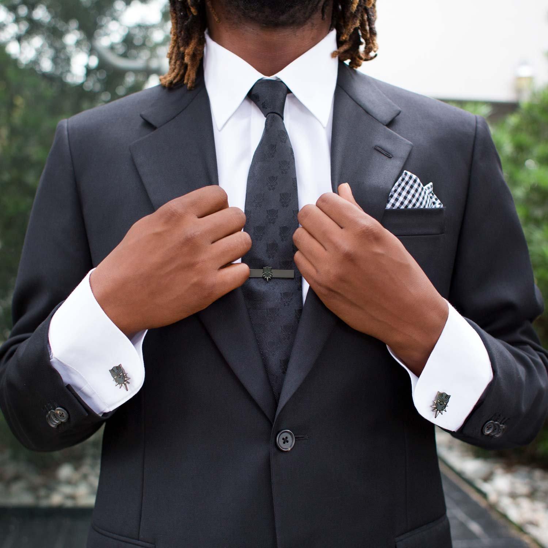 Officially Licensed Marvel Black Panther Tie Bar