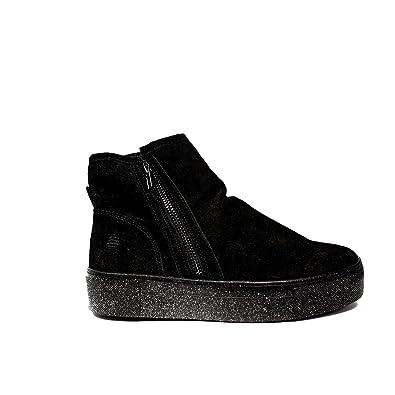 Chaussures automne Marina Yachting noires femme jCqztcIH