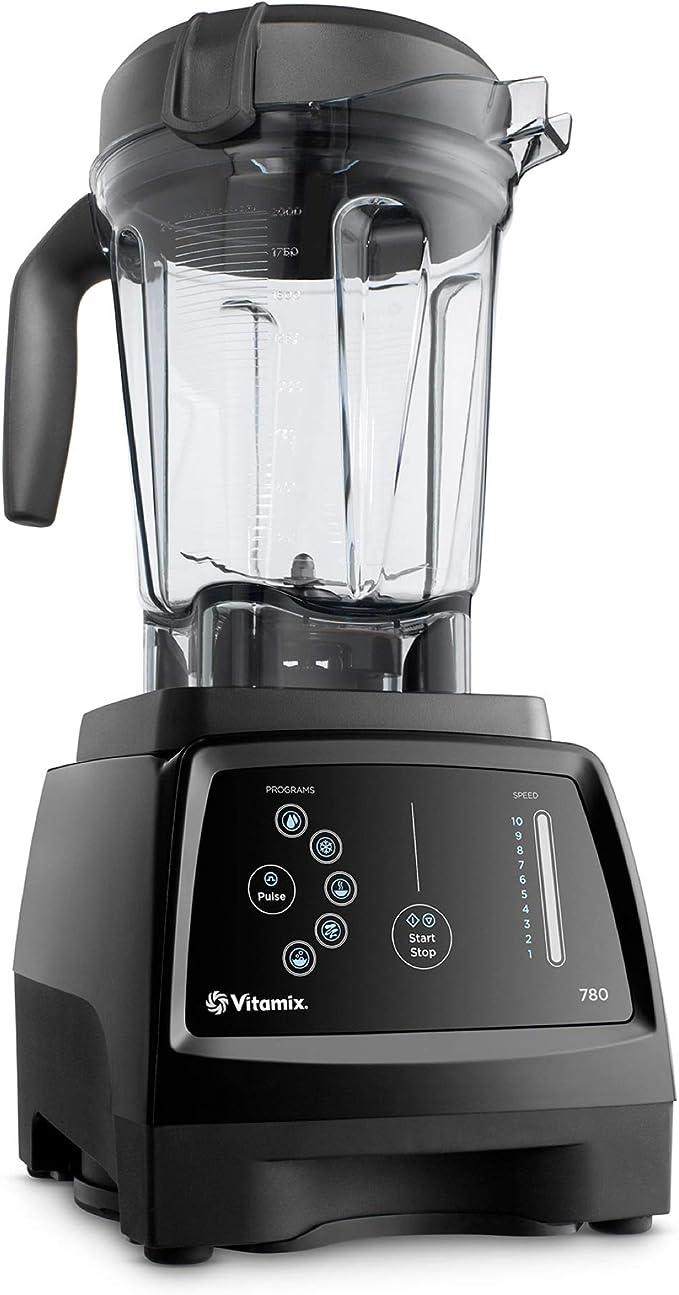 Vitamix 780 Blender, Professional-Grade, 64oz. Low-Profile Container, Black (Renewed)