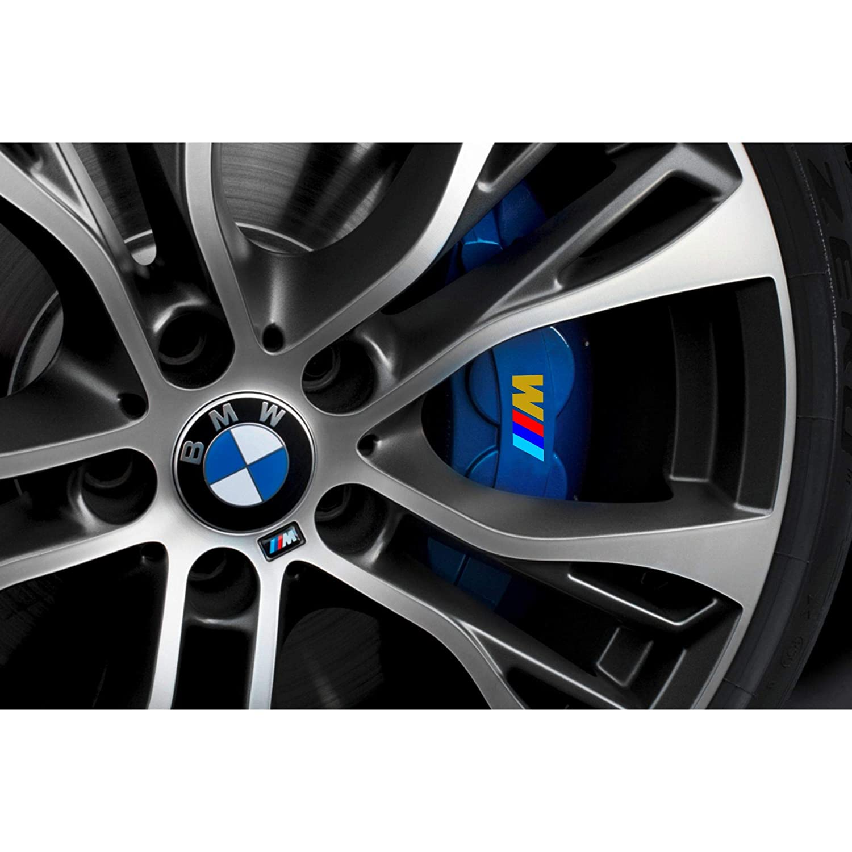Autodomy Pegatinas BMW Pinza de Freno Pack 4 Unidades para Coche Oro