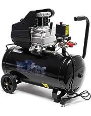 Compresor aire 50L 8Bares Presión Aire comprimido De aceite Taller Profesional Herramienta neumática