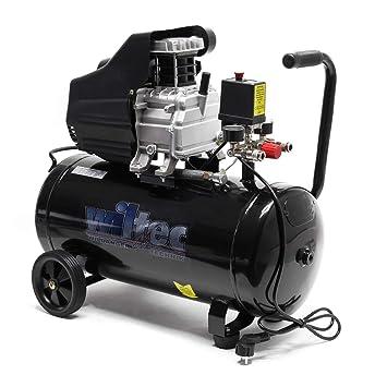 Compresor aire 50L 8Bares Presión Aire comprimido De aceite Taller Profesional Herramienta neumática: Amazon.es: Bricolaje y herramientas
