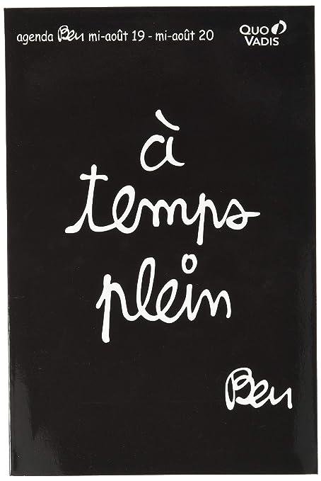 Quo Vadis Ben Texthebdo - Agenda escolar semanal (16 x 24 cm ...