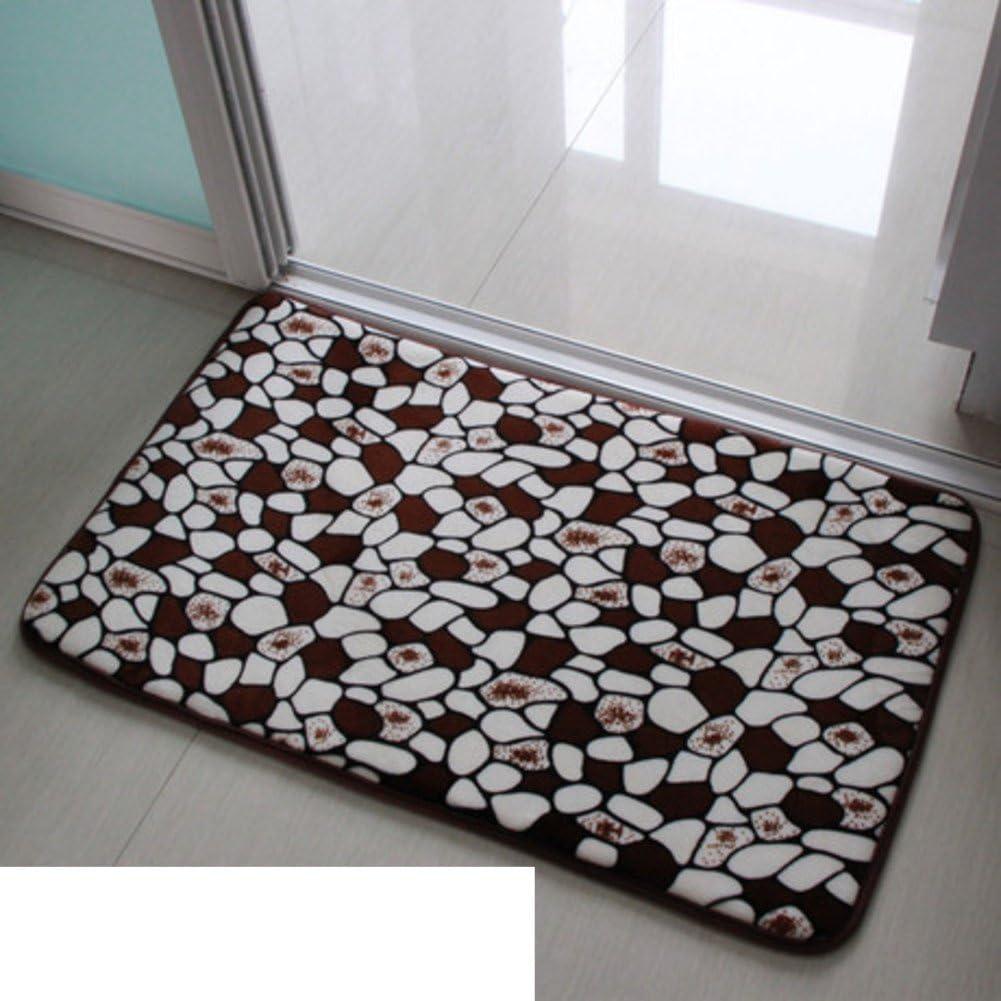 Máquina lavable agua corredera entrada puerta mat/Cocina baño felpudos/Manta-L 60x90cm(24x35inch): Amazon.es: Hogar