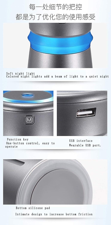 WERNG Humidificador de Ventilador USB Mini purificador de Aire ...
