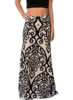 5b527992f66a Women's Maxi Dresses Summer Casual Retro Boho Tribal Floral Gypsy ...