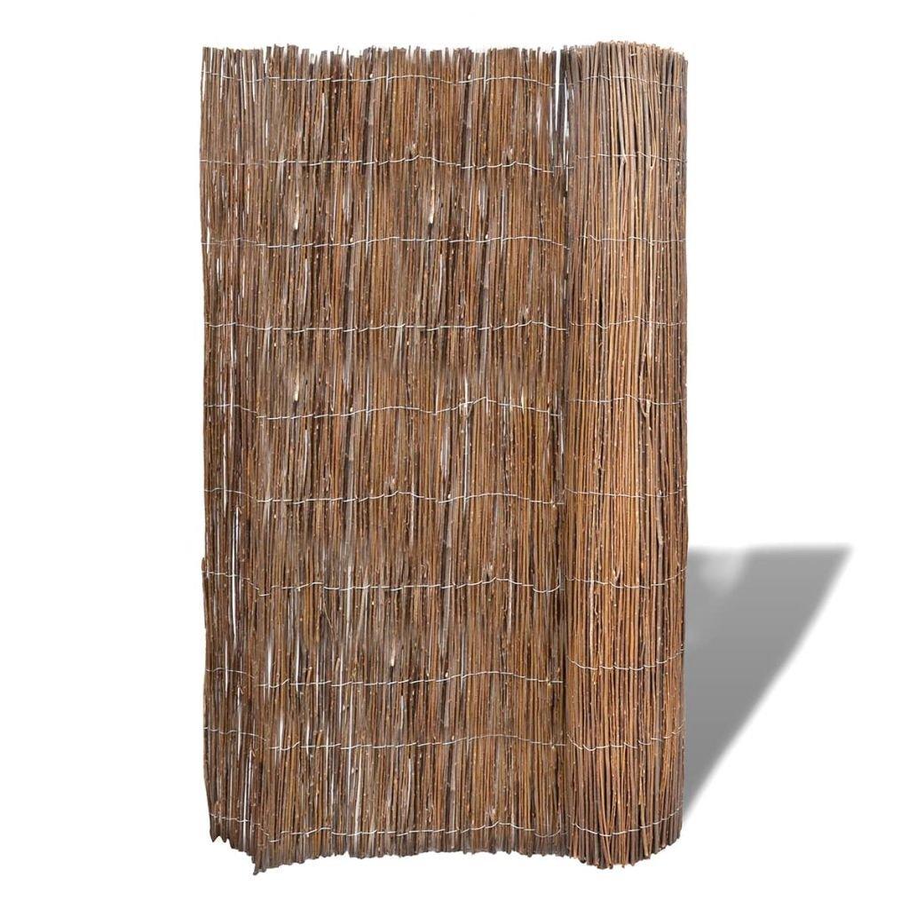 Sconto del 70% Tidyard Recinto Recinzione in in in Canna, Recinzione recinto da Giardino in Rami di salice Naturale 300 x 200 cm  per poco costoso