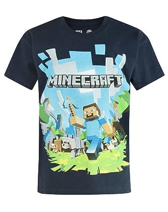 12-13 Years Minecraft Adventure Logo Boys T-Shirt