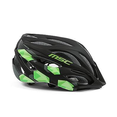 MSC Bikes MSC Inmold - Casco, Color Negro/Gris, Talla M/L