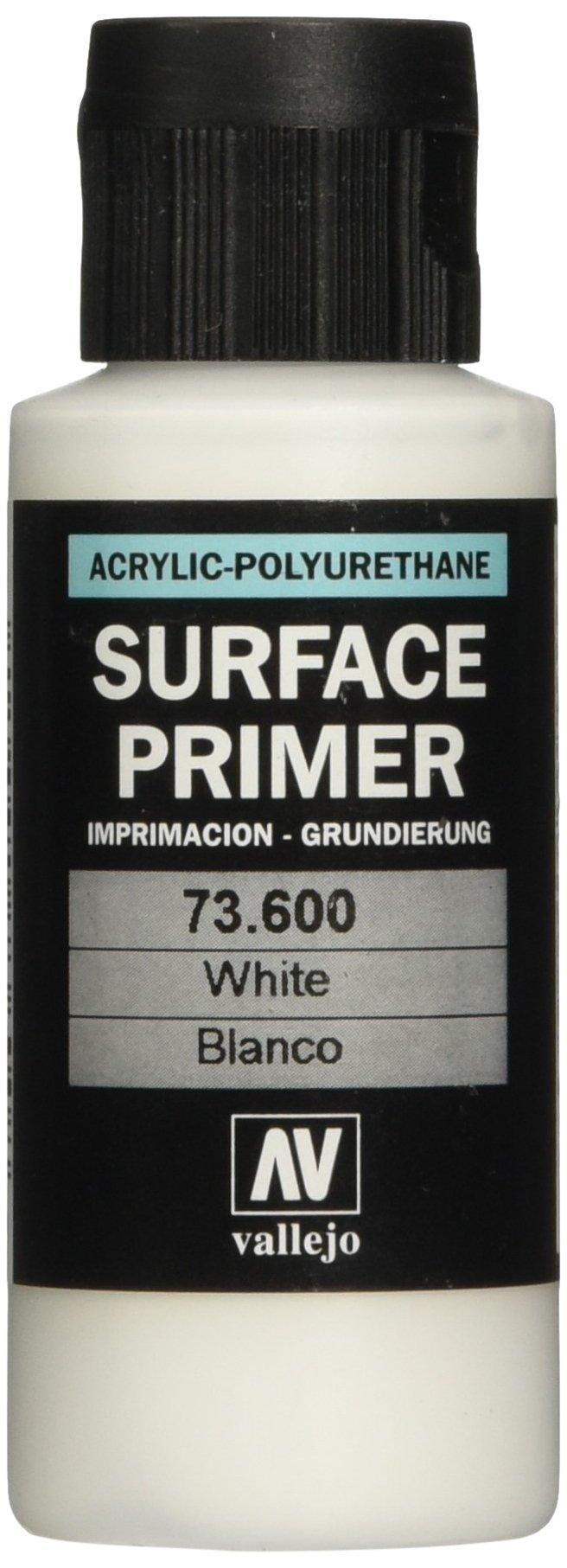 Vallejo White Primer Acrylic Polyurethane, 60ml
