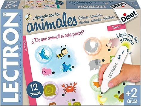 Oferta amazon: Diset- Lectron Baby animales - Juego educativo a partir de 2 años