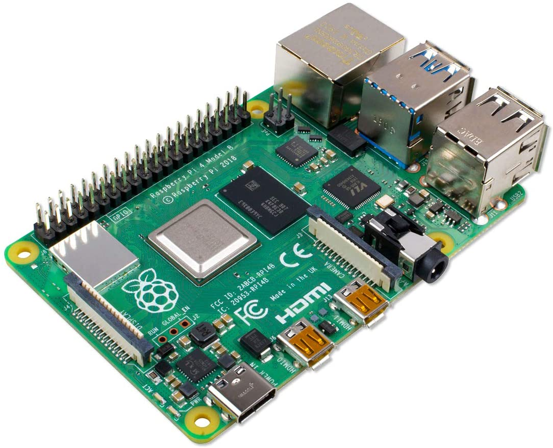Raspberry Pi 4 Model B 2019 Quad Core 64 Bit WiFi Bluetooth 4GB at Kapruka Online for specialGifts