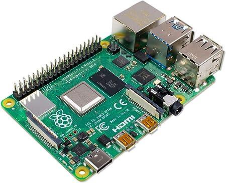 Raspberry Pi 4 Model B 4 Gb Arm Cortex A72 4 X 1 50 Elektronik
