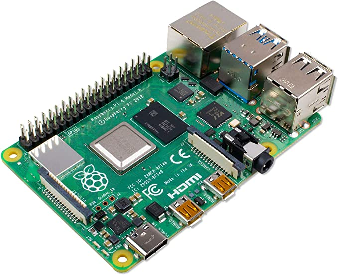 Raspberry Pi 4 Modell B 4GB ARM-Cortex-A72 4x 1,50GHz: Amazon.com: Electronics