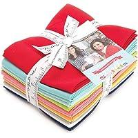 Bonnie & Camille Bella Solids Designer Series 12 Fat Quarter Bundle Moda Fabrics 9900ABBC