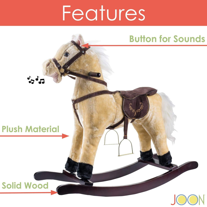 Joon Rocking Horse Pony, Beige