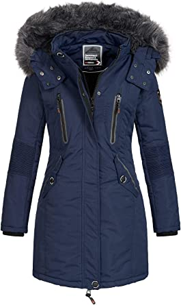 Geographical Norway Veste Femme Parka d'hiver CoracleCoraly XL Fellkapuze