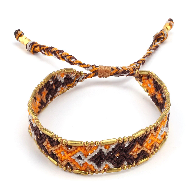 KELITCH Summer Friendship Bracelet Wayuu Bracelet for Best Wish