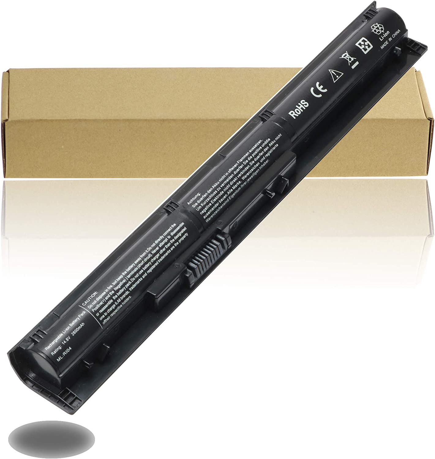 RI04 RI06XL Laptop Battery for HP 805294-001 811063-421 805047-851 P3G15AA HSTNN-DB7B HSTNN-PB6Q; ProBook 450 455 470 G3 Envy 15-Q001TX Series Notebook Batteries