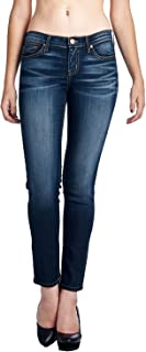 product image for Angry Rabbit Women's 3D Whiskers Skinny Premium Designer's Denim Jeans Made in USA
