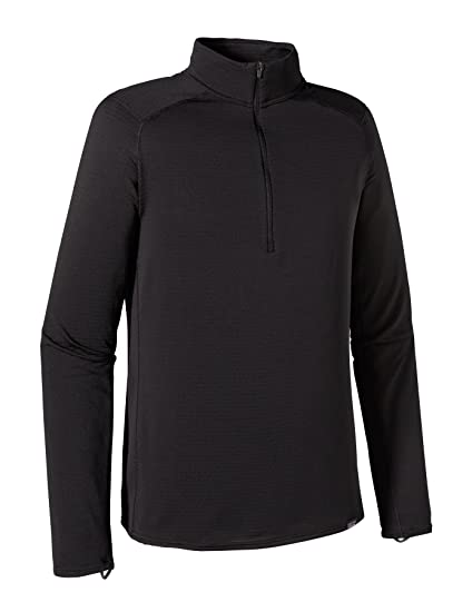 Patagonia Capilene Thermal Weight Zip Neck - Mens Black Small