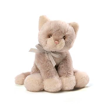 Amazon Com Gund Baby Oh So Soft Kitty Tan Plush Baby