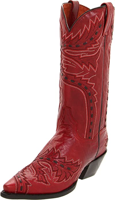 Amazon.com | Dan Post Women's Sidewinder Western Boot | Mid-Calf