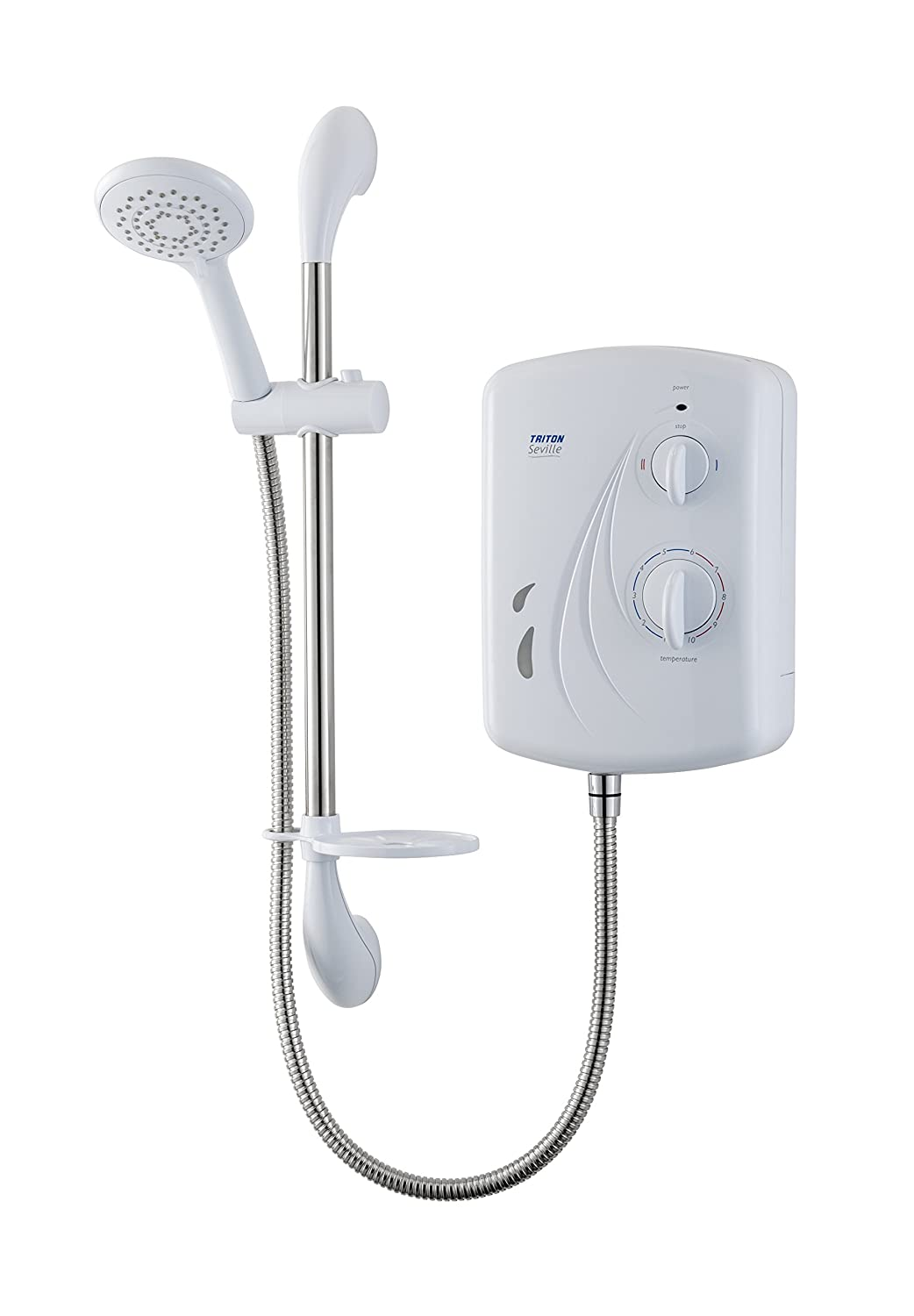 Triton seville electric shower water heater boiler free delivery ebay - Shower water heater ...