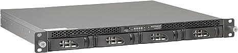 Netgear RN3138-100NES - Dispositivo de Almacenamiento en Red ReadyNas en Formato Rack con Capacidad para 32 TB (4 HDD de 8 TB, no incluidos)