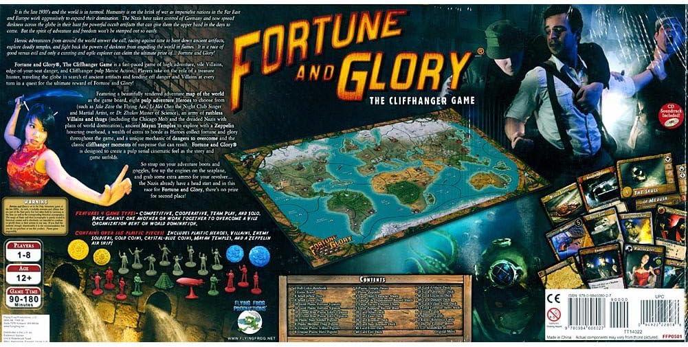 Flying Frog Productions 501 Fortune und Glory - Juego de Mesa [Importado de Alemania]: Amazon.es: Juguetes y juegos