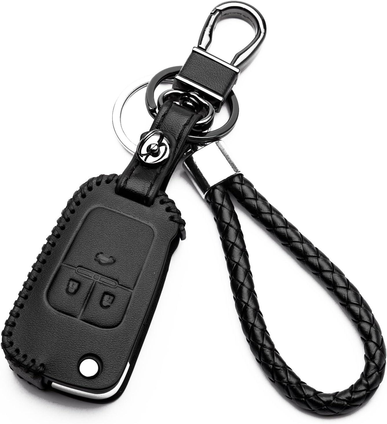 Hülle Autoschlüssel Für Opel Kunstleder Schutzhülle Elektronik