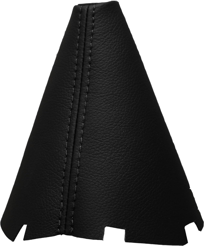 JPstraps Cuffia Leva Cambio 100/% Vera Pelle Colore Nero Compatibile