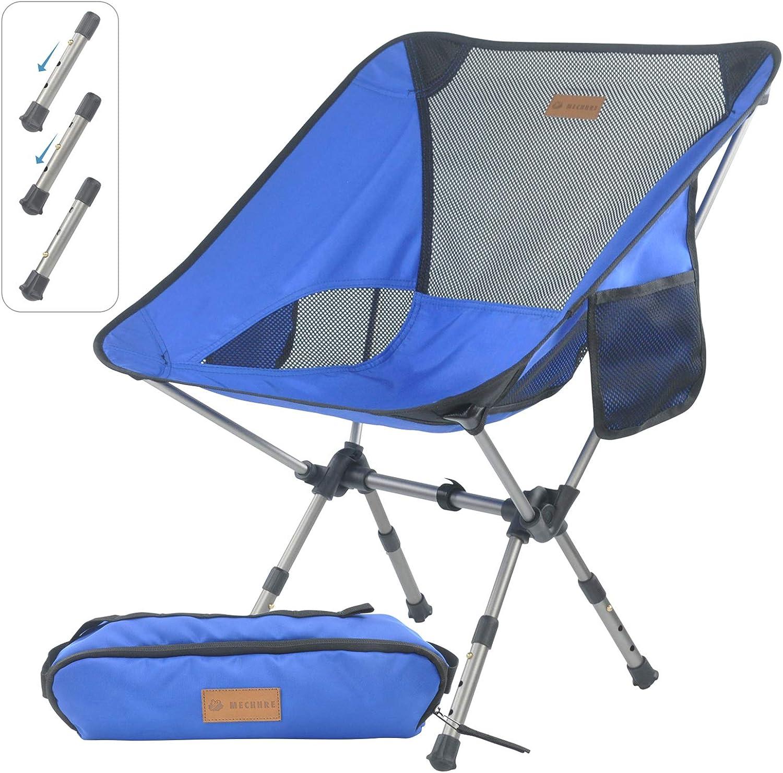 weichuang Chaise de Camping Naturehike Nouveau L/éger Portable Pliage Compact Chaise Camping en Aluminium Mesh Plage Pique-Nique Heavy Duty Camouflage Chaise De P/êche