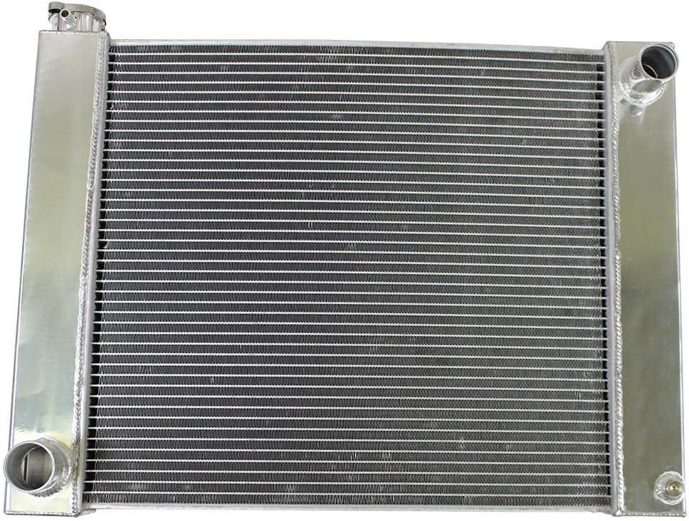 """Universal GM Chevy Heavy Duty Fabricated Aluminum Radiator 31/"""" x 19/"""""""