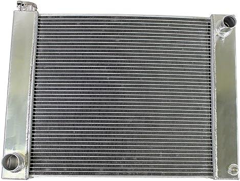 "Ford Mopar Universal Racing Aluminum Radiator 2 Row Double Pass 24/"" x19/"" x3/"""
